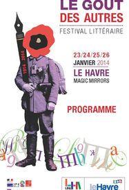 Programme Festival littéraire Le Goût des Autres 2014