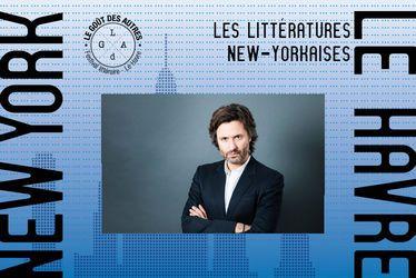 """Christophe Ono-dit-Biot : """"J'ai surnommé Le Havre (...) Manhattan sur mer"""" - Festival littéraire Le Goût des Autres 2018"""